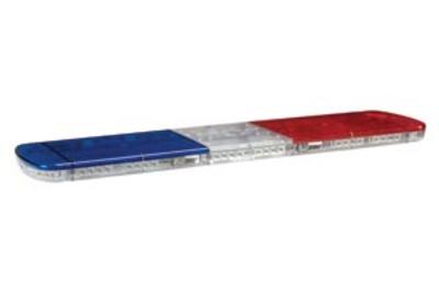 Hazard LED 15 Series Lightbar - Red/Blue - 1240mm Long