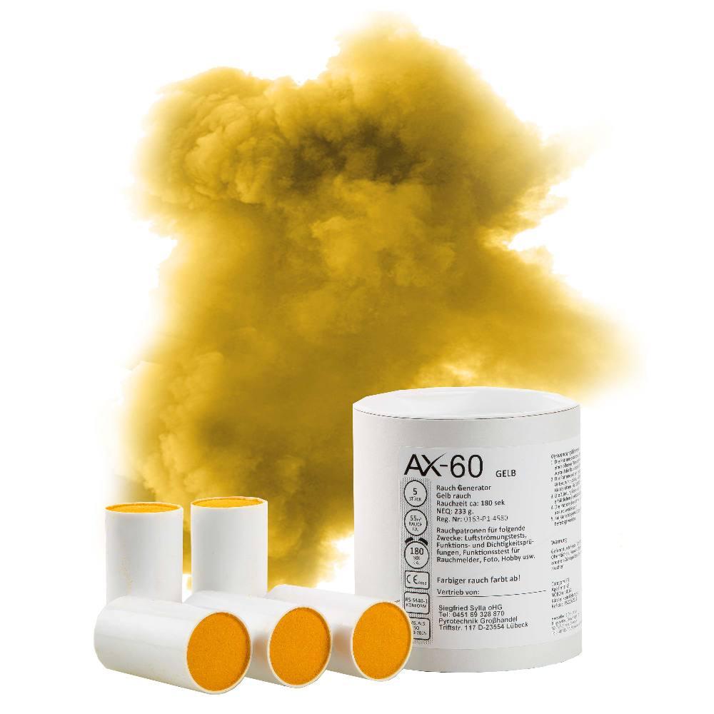 AX60 Coloured Smoke Bomb Yellow