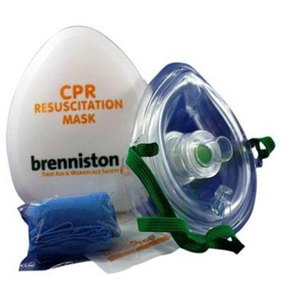 Resuscition Aid Pocket Mask with Cushion