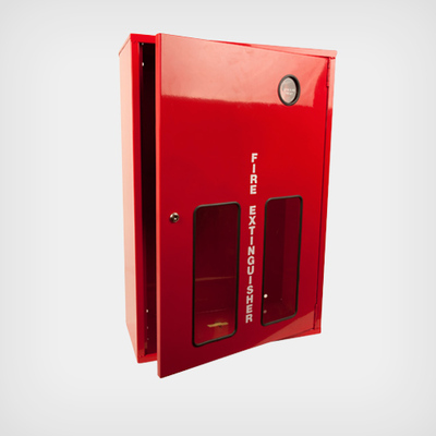 Extinguisher Cabinet - BFI Double Box - suit 2 x 9kg Ext