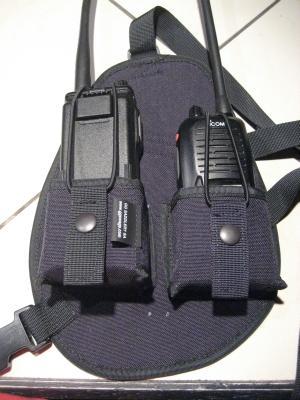 Radio Vest to Hold Motorola