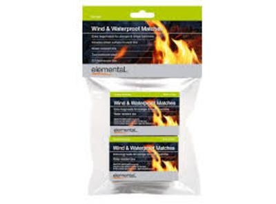 Elemental Wind and Waterproof Matches - 2 Packs