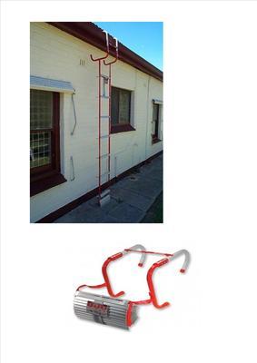 Kidde Emergency Escape Ladder 4m 2 Storey 13ft