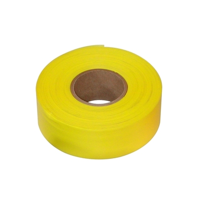 Plastic Flagging Tape 45m Roll - Yellow