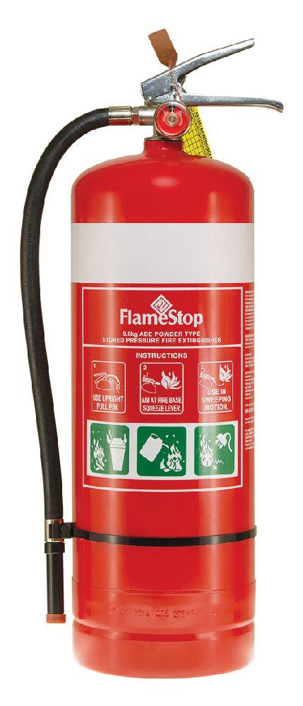 Flamestop 9.0kg ABE Dry Powder Extinguisher