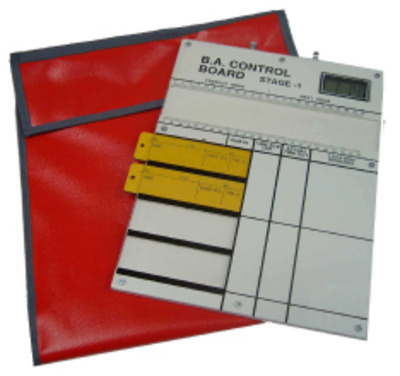 BA Entry Control Board - 4 Tally with Bag
