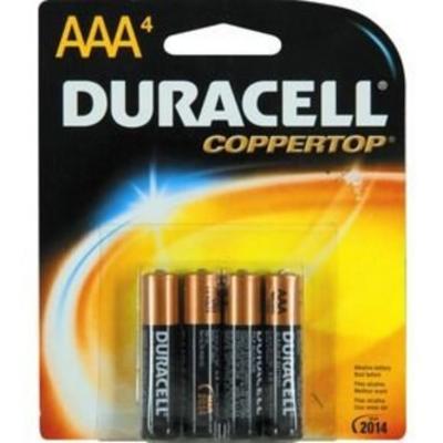 Duracell CTop AAA 4pk