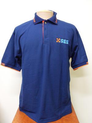 SES Tasmania Navy Poloshirt