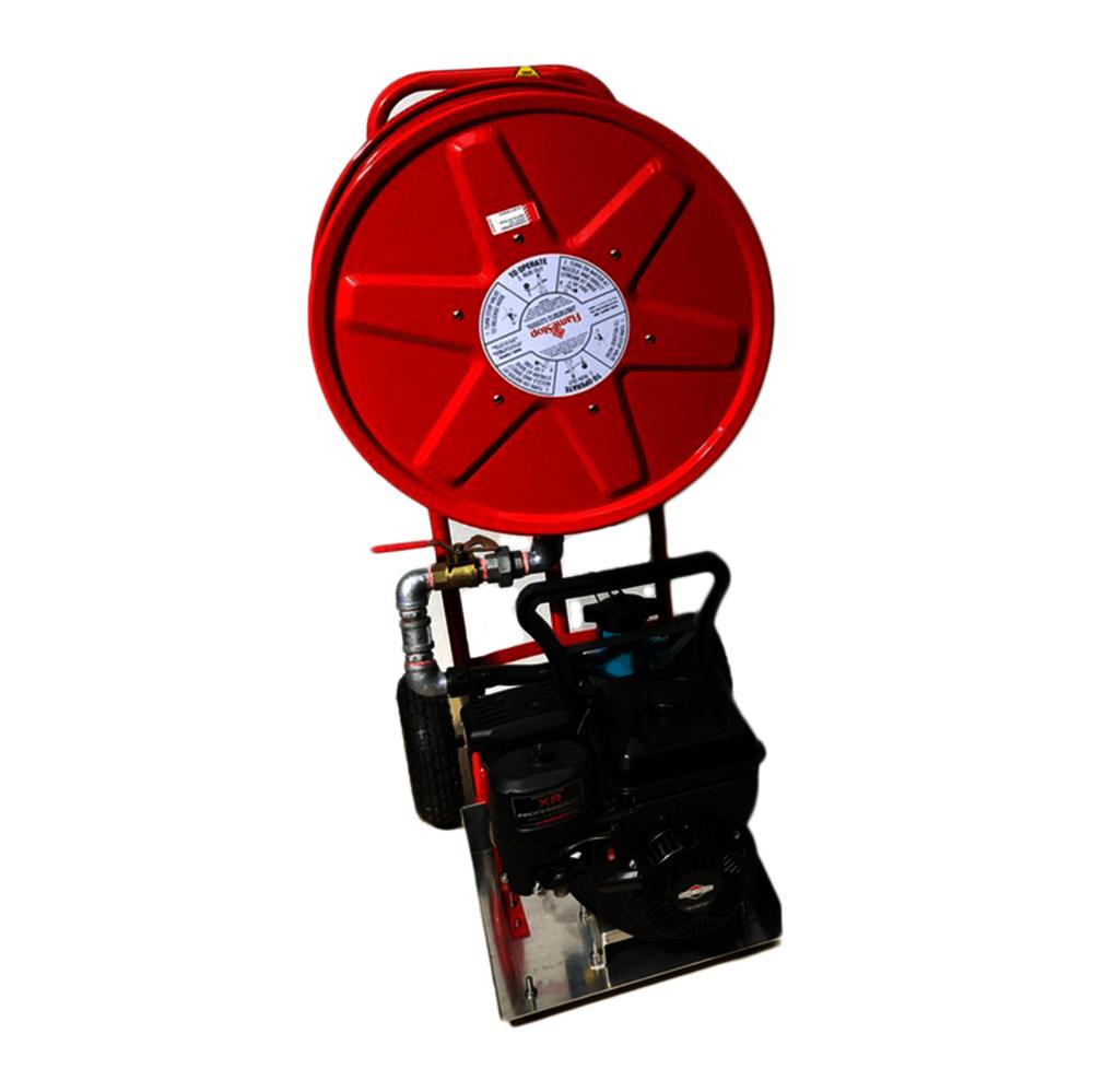Mobile Firefighter Trolley - Hose Reel Version