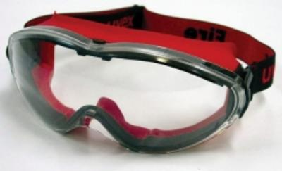 UVEX Fire Goggle - Red
