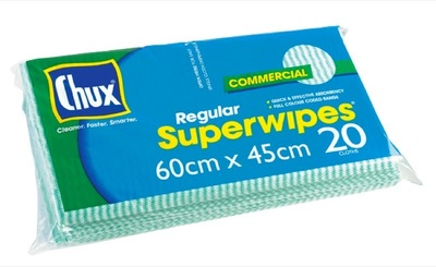 Chux Super Wipes 60cm x 45cm Commercial Ctn/240