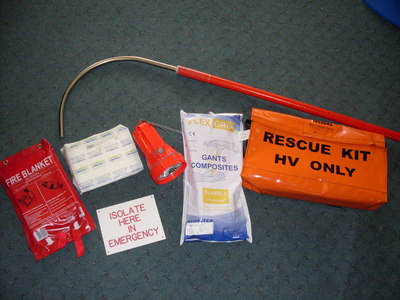 High Voltage Switchboard Rescue Kit