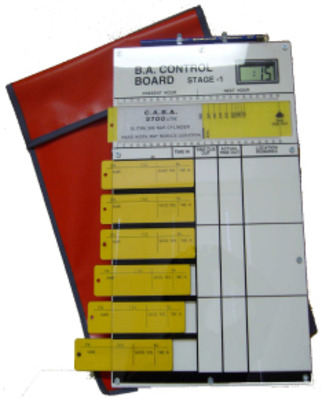 BA Entry Control Board - 6 Tally with Bag