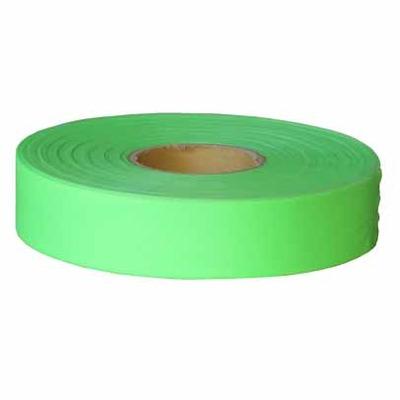 Plastic Flagging Tape 45m Roll - Green Fluoro