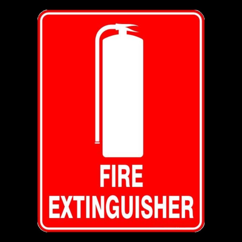 Fire Extinguisher Location Sticker