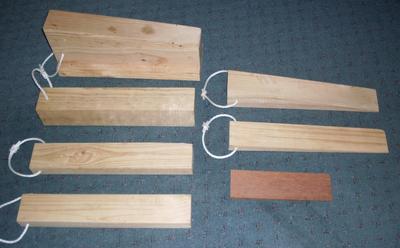 Timber RAR Stabilisation Chock Kit