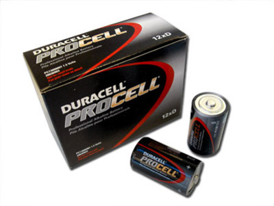 Procell D size Battery