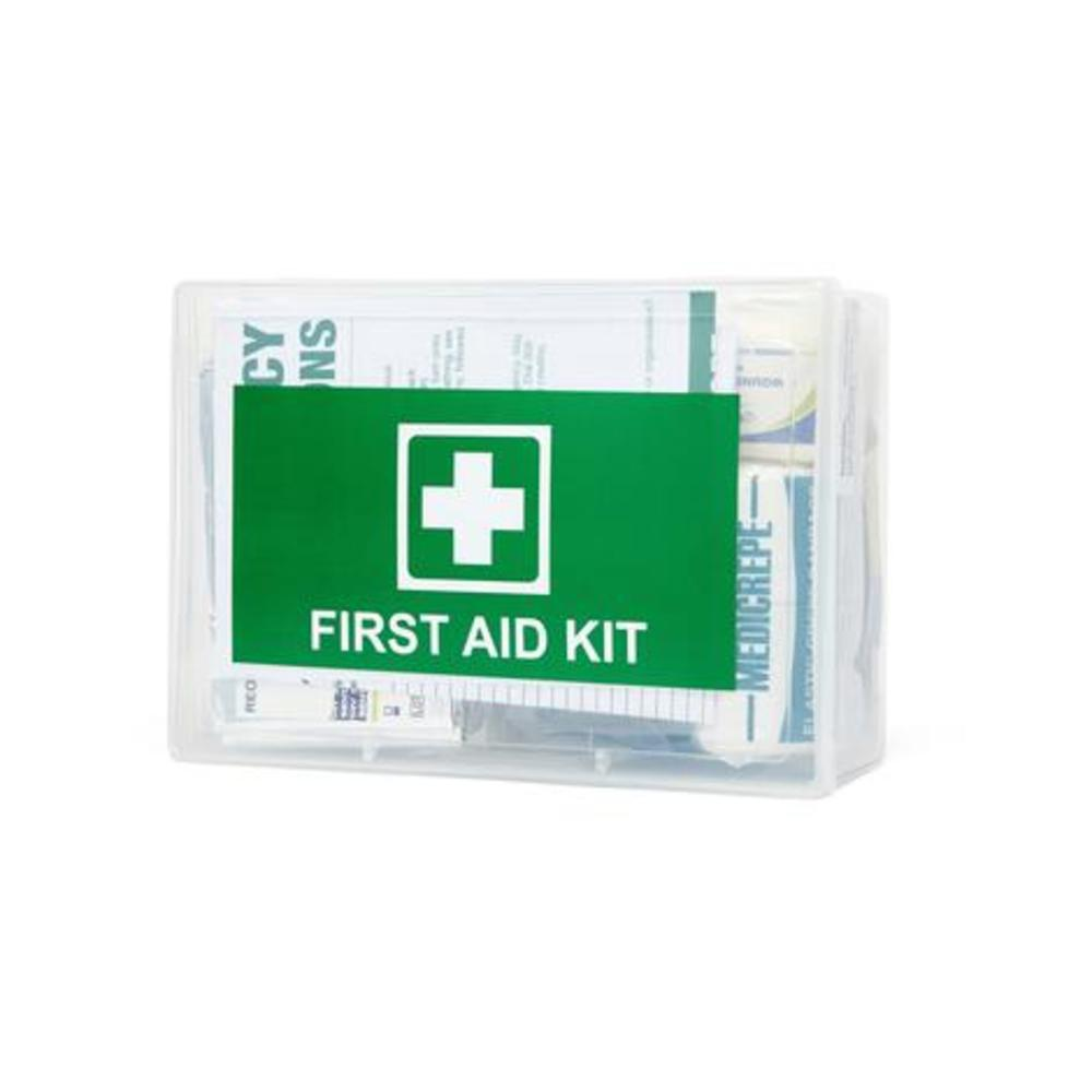 Compact Clear Box First Aid Kit
