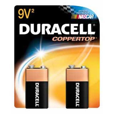 Duracell 9 volt Coppertop Battery