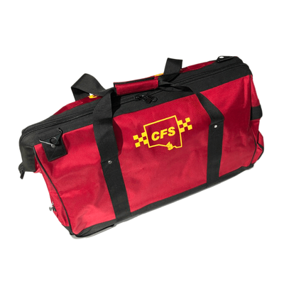 CFS Turnout Wheelie Bag - Red