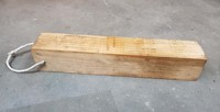 90mm x 90mm x 500mm Pine Block