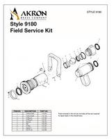 Akron Field Service Kit for Styles 1701, 1702, 1704, 4801 & 4802