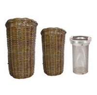 Suction Strainer - Wicker Basket