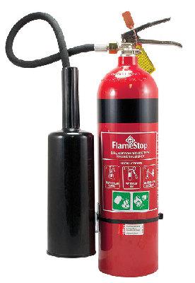 Flamestop 3.5kg CO2 Extinguisher