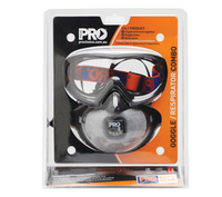 Filterspec Goggle & P2 Carbon Respirator Combo