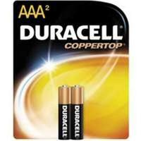 Duracell AAA Coppertop Batteries - 2pk