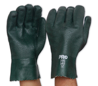 PVC Double Dipped Gloves - Short Cuff