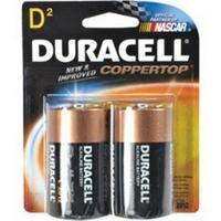 Duracell C-Top D Batteries 2pk