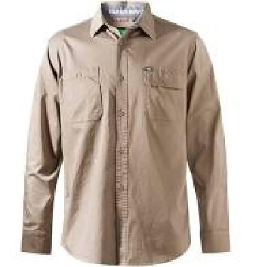 FXD LSH-1 Work Shirt - Khaki