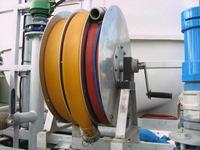 Manual Layflat Reel to Carry 2 rolls of 65mm Hose