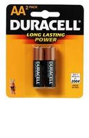 Duracell AA Coppertop Batteries - 2pk