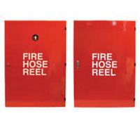 BFI Hose Reel Cabinet - Push Lock Handle