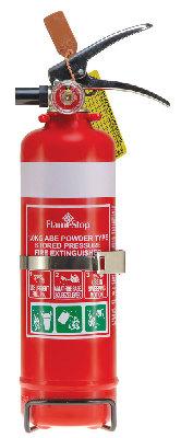Flamestop 1.0 kg ABE Dry Powder Fire Extinguisher