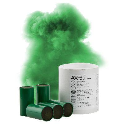 AX60 COLOURED SMOKE BOMB GREEN