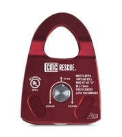 CMC Rescue Pulley Single - Burgundy