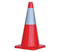 Pro Choice 700mm Traffic Cone with Reflective Collar
