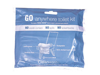 Go Anywhere Toilet Kit - Wag Bag Only