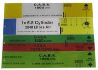 Duration Slide Calculator 45mm - 9 Litres- 200 Bar