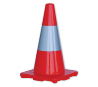 Pro Choice 450mm Traffic Cone with Reflective Collar
