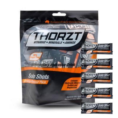 Thorzt Solo Shot Sachet 3g 50pk - Orange