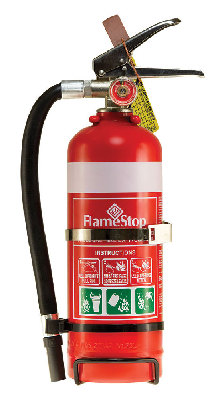 Flamestop 1.0kg ABE Dry Powder Extinguisher with Hose
