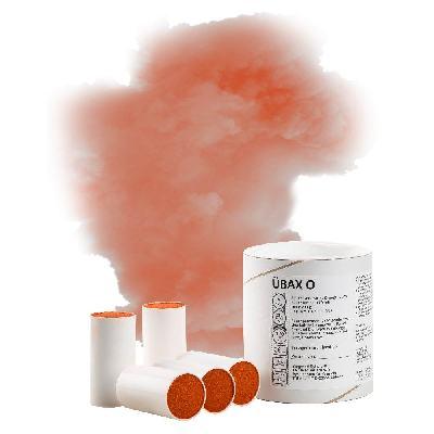 AX60 COLOURED SMOKE BOMB ORANGE