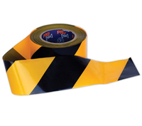 Barricade Tape Yellow-Black