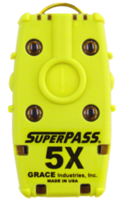 SUPERPASS 5 NFPA COMPLIANT FIREFIGHTER PERSONAL ALERT SAFETY SYSTEM