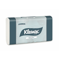 Kleenex Optimum Towel - White 30.5cm x 24cm - 120 Towels / Pack