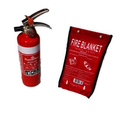 1kg Fire Extinguisher & 1m x1m Fire Blanket